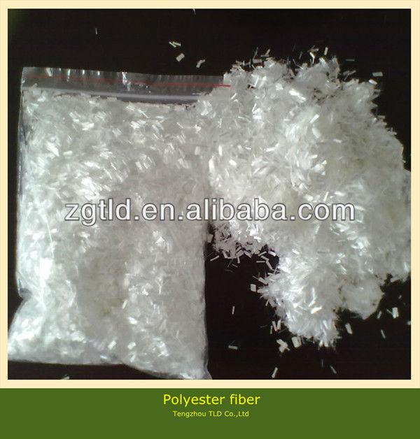 10mm Asphalt polyester fiber