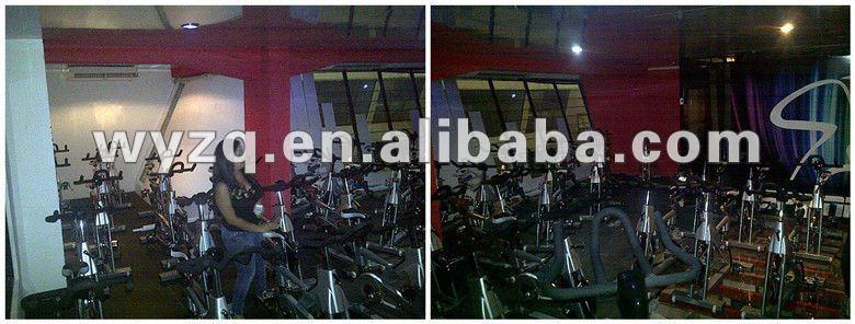 racing spin Exercise Bike/racing Indoor cycle trainer Exercise Bike BY-E780 in 20kg heavy flywheel