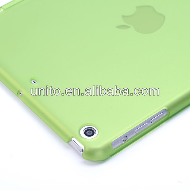 High quality Transparent matt hard back cover case for ipd mini with retina display