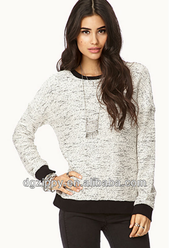 No-Fuss Marled Sweatshirt online shopping for clothing