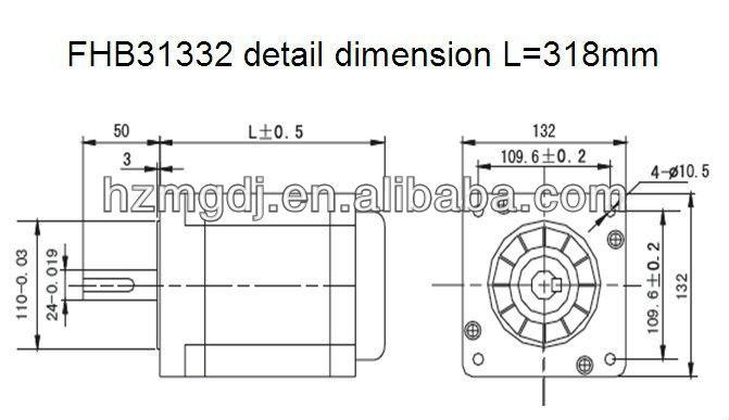 FHB31332 detail dimension
