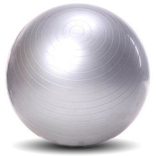 Yoga Gym Fitness Exercise Inflatable Ball 65cm + Pump