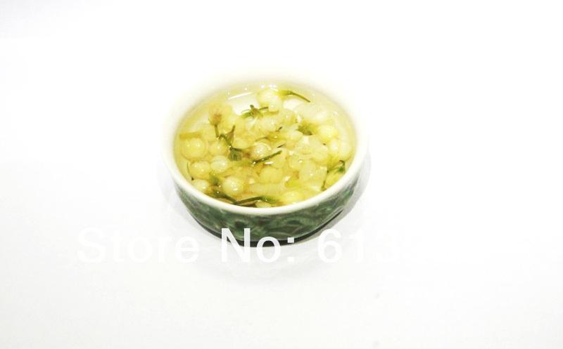 קידום! 60% הנחה!!!!!!!!!!!אורגני יסמין, פרח תה, תה ירוק 250 גרם +סוד מתנה+משלוח חינם