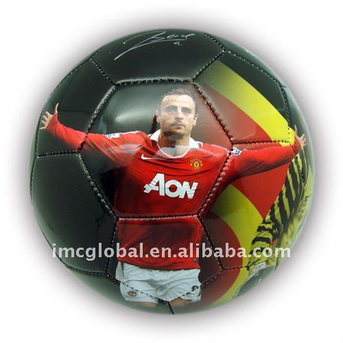 Promotional Size five Photo Soccer ball