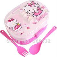 Ланчбоксы, Наборы посуды Hello Kitty PP lun , 6  KT-0906