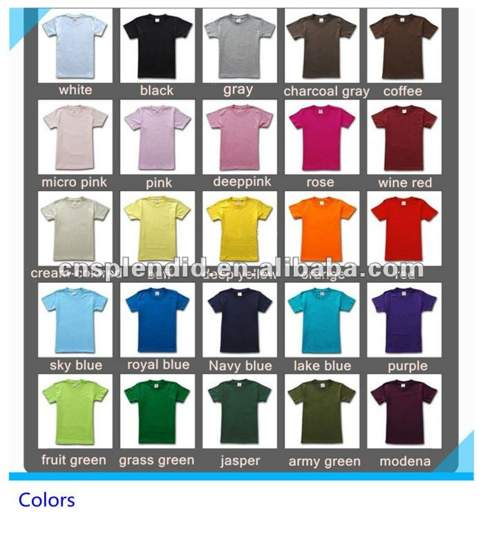 spandex t-shirts printing for men cotton fit body red color