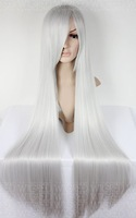Парик косплей New Style Heat Resistant Long straight WHITE Cosplay Wig