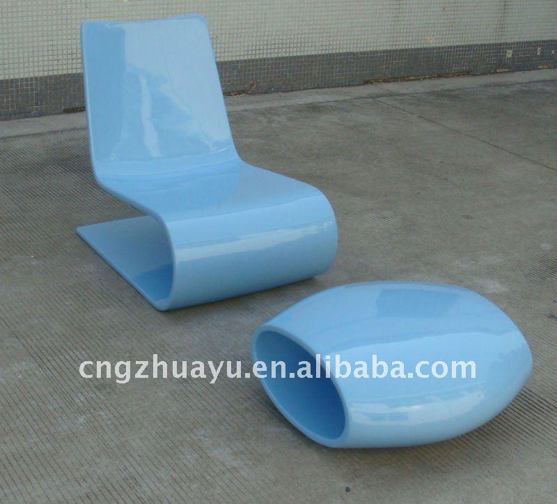 Fiberglas Nouvelle Vage Chaiselongue Wohnzimmer Sessel Produkt Id 206114919