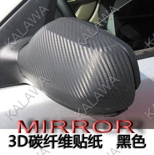 "HOT!!! 1PC 1.27*0.5M (50*19"") 3D carbon fiber vinyl car wrap film-color option FREESHIPPING"