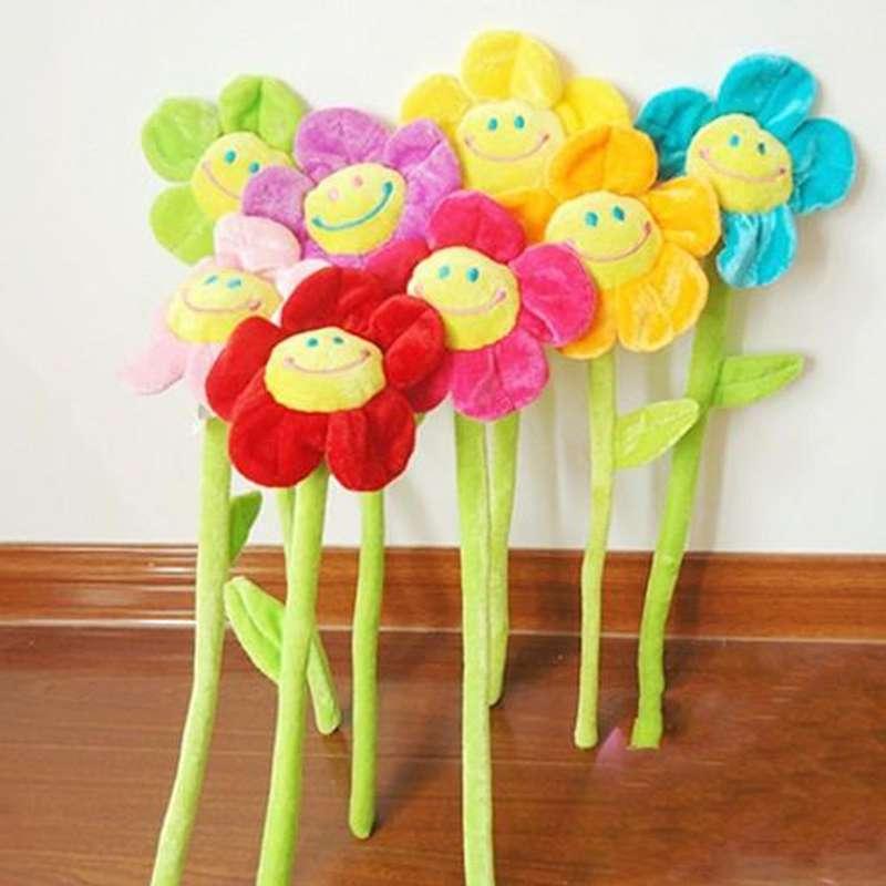 Мягкие цветы