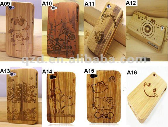 Best selling items! Various Pattern Bamboo wood phone case for iphone 5s