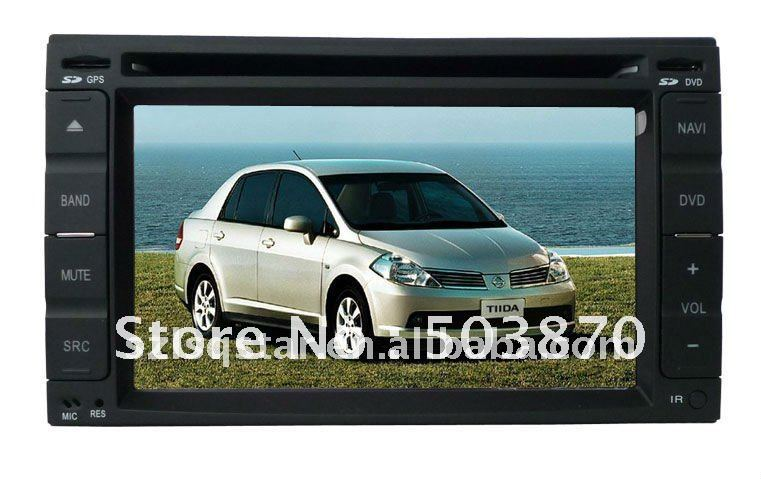 Free shipping 3G Hyundai Nissan-Tiida  Multimedia Car Monitor DVD Device with 3G  gps bluetooth Radio TV USB IPOD ST-8901