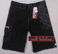 Free shipping/2013 surfing shots/board shorts/swimming trunks /beach wear/ beach shorts/beach pants/colorful/03# Black