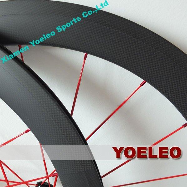700c ruedas bicicletas de carretera baratas clincher 50mm with basalt fiber braking surface