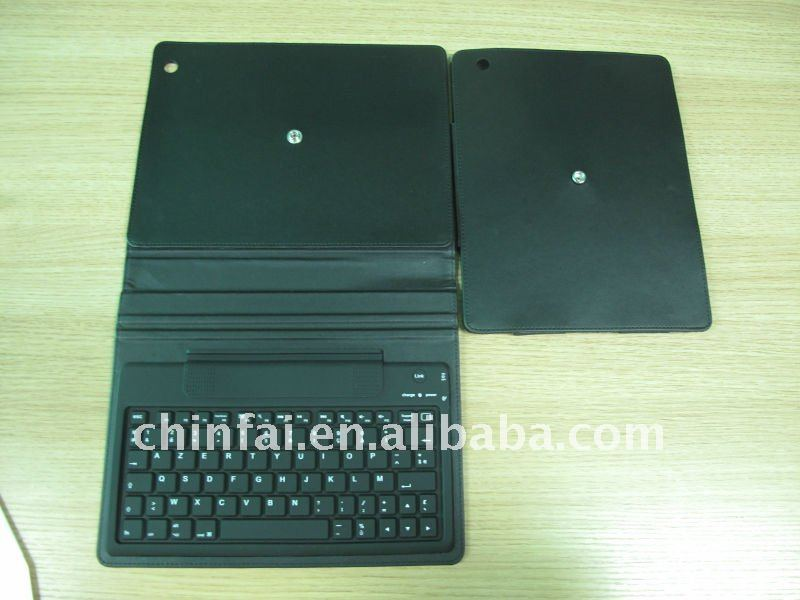 2011 for ipad 2 case with keyboard,with rotated case design