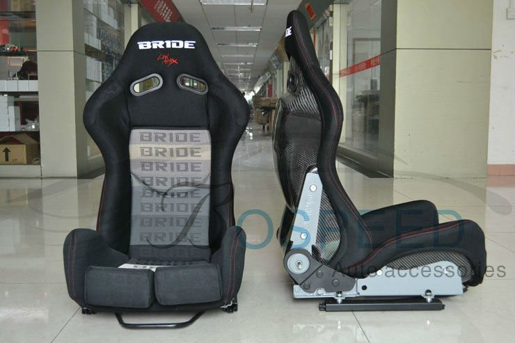 Adjustable Bride Lowmax carbon fiber racing seats