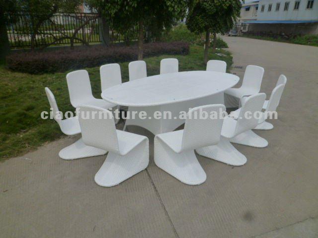 Table de jardin 10 12 couvert for Couvert de table design pas cher