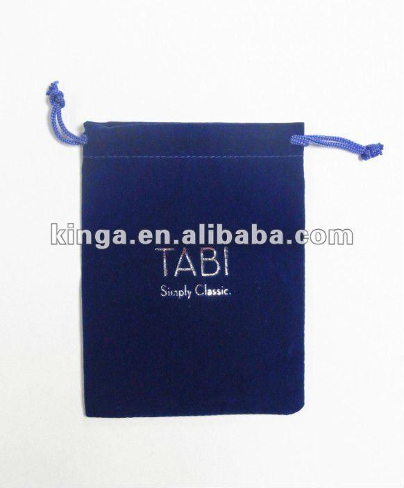 velvet bag with drawstring for gift / velvet gift bag