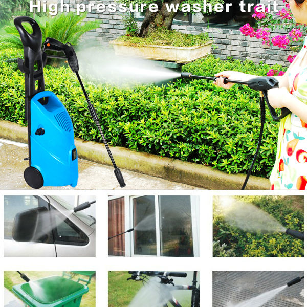 Portable 150bar 2200psi High Pressure jet car Washer