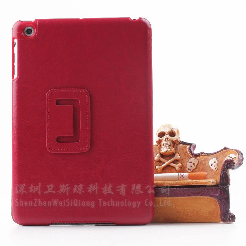 Wholesale for ipad mini case new arrival,for ipad mini luxury leather