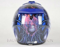Adult MX Motocross Dirt Bike ATV Off-Road Helmet Blue