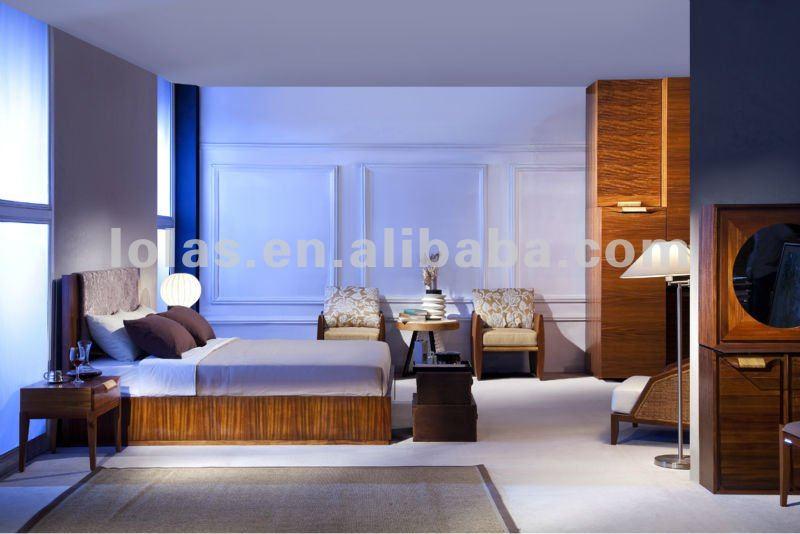 moderno hotel de lujo muebles del dormitorio suave diseño funcional
