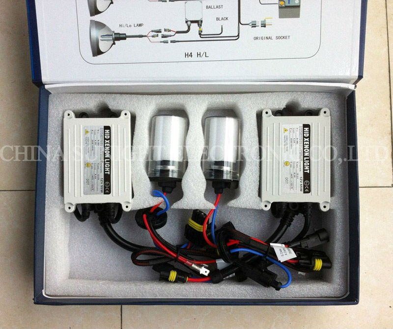 12V/55W AC Xenon HID KIT H7 4300K/6000K/8000K/10000K/12000K + Free Shipping By China Post