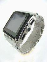 Free shipping waterproof watch phone W818