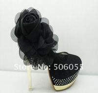 Туфли на высоком каблуке Fashion Women Luxury Sexy Platform Bow Tie Diamond High Heels Pumps Shoes