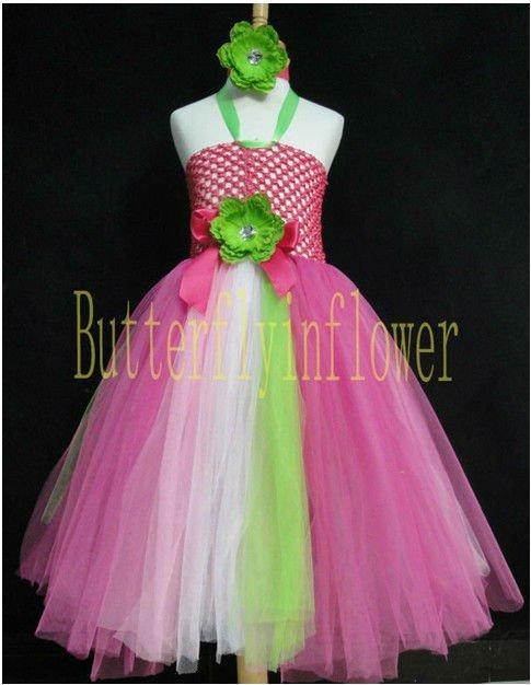 Bonitos vestido del bebé para Chrismas niñas vestidos hinchados 0 ...