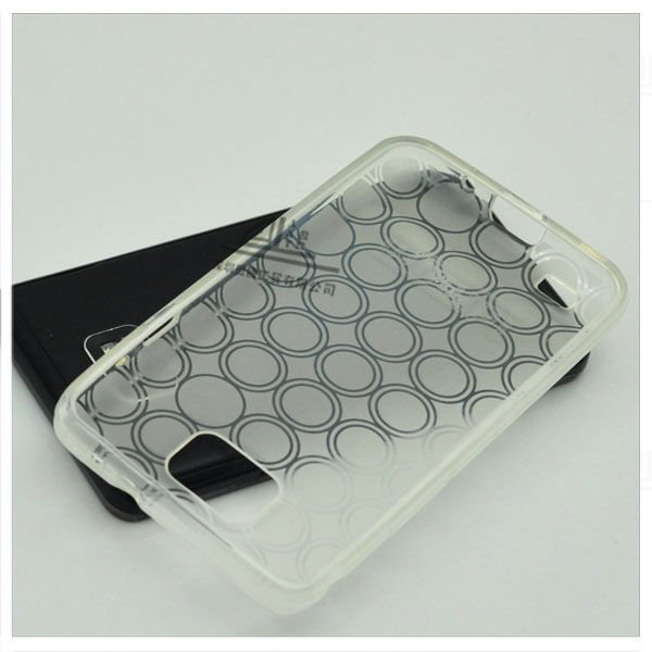 Circle pattern TPU case for Samsung i9100 PC26