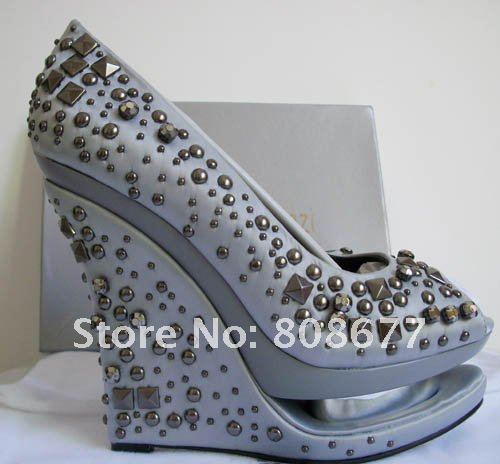 New Arrival Sexy Double Waterproof Dress Shoes,High Heel Sandals Crystal Round Toe Pump,Wedge Shoes,Sexy Lady Sandals