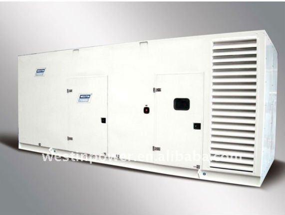TC330 Cummins 300KVA 240KW Diesel Generator(Stamford Alternator,water-cooled,optional Silent Type,ATS,Deep Sea Controller)
