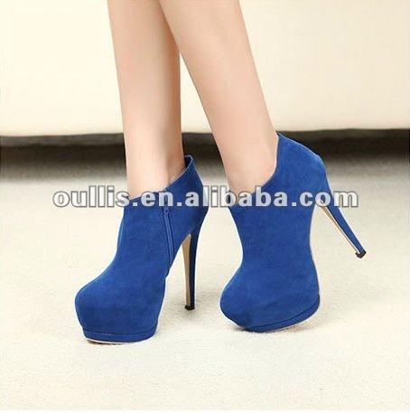 Barato ankle boots moda mujer alta zapatos tacon zapatos italianos lm143