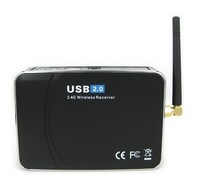 Система видеонаблюдения EasyCAP USB 2.0 4-Channel Wireless Receiver + Wired Video Capture/Surveillance DVR Box