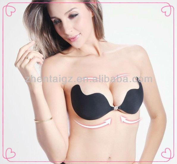 How to wear self adhesive bra