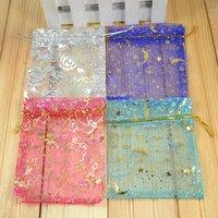 Мешочек для ювелирных изделий Jewelry cases&display gift bags silk pouches wedding bag Suitable for all kinds of packaging 02