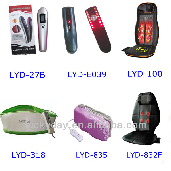 Super quality innovative u design vibrating neck massager