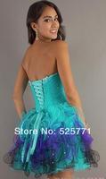 Коктейльное платье New Sweetheart Beaded Short Mini Party Dress Homecoming Prom Cocktail Dress Custom Size