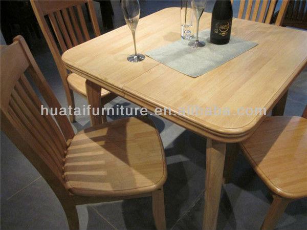 Petite table manger sets pliant cuisine en bois massif for Petite table de cuisine en bois