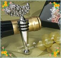 Барный набор Wine Bottle Stopper 14 * 5,5 * 3 Metal Grape Wine Stopper