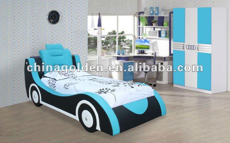 Caliente la venta de los ni os muebles camas de coches - Cama coche para ninos ...