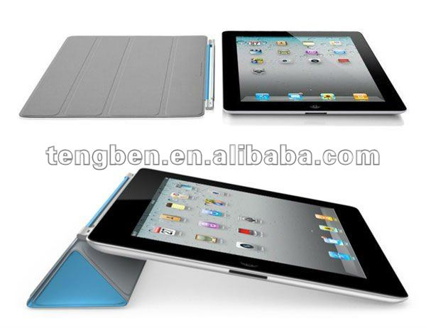Hot!! blue color for ipad case with keyboard