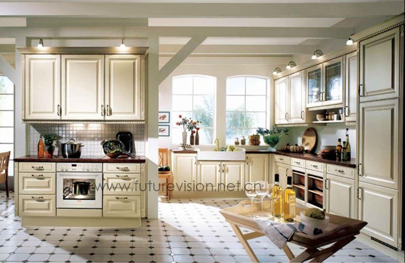 الصلبة البلوط المطبخ خشبية الأثاث