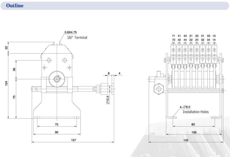 Stroke Switch XK-100 Stroke Switch