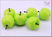 New arrival 4cm mini apple Artificial fruit home decorated fruit hotel home decorations kids fruit