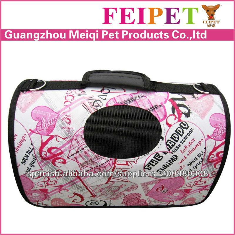 Pink fashion pet carry bags for pet boutique