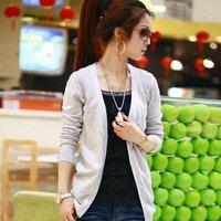 Женский кардиган Fashion Multi colors Women Ladies Casual Knit Coat Top Sweater Cardigan Tops Coat # L03468