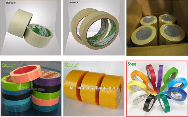 High Temperature Crepe Paper Printed Masking Tape