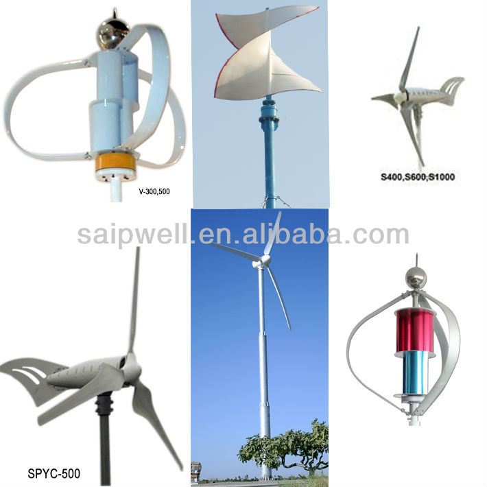 2013 New Mini Wind Turbine Generator M-300,M-400